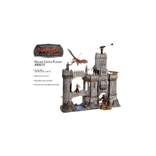 Narnia Prince Caspian Deluxe Castle Playset