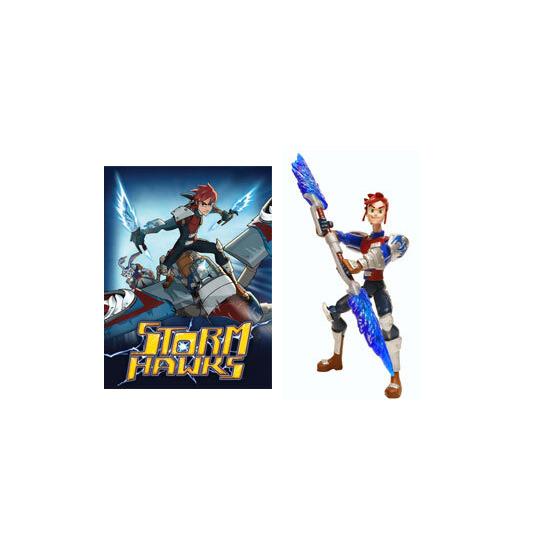 Storm Hawks Heroic Figure - Aerrow