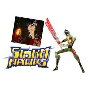Photo of Storm HAWKs Deluxe Figure - Dark Ace Toy