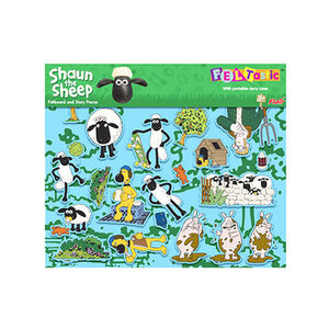 Photo of Shaun The Sheep Feltastic Toy