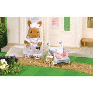 Photo of Sylvanian Families - Nurse and Wheelchair Toy