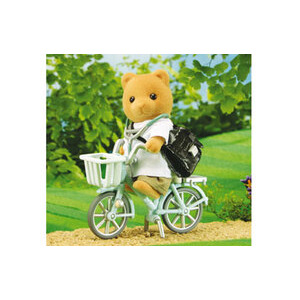 Photo of Sylvanian Families - Doctor With Bike Toy