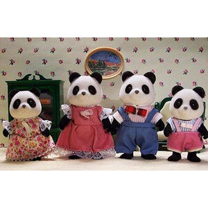 Photo of Sylvanian Families - Panda Family Toy