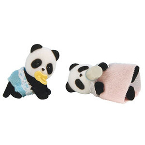 Photo of Sylvanian Families - Panda Twin Babies Toy