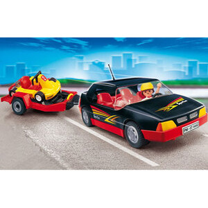 Photo of Playmobil - Car With Cart 4442 Toy