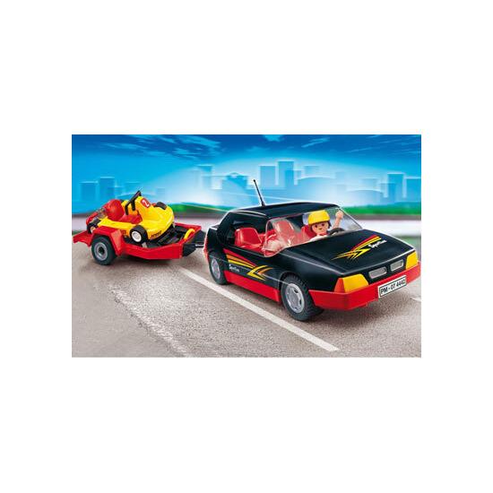 Playmobil - Car with Cart 4442