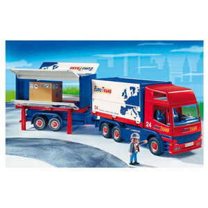 Photo of Playmobil - Truck With Trailer 4323 Toy