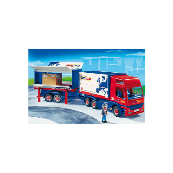 Playmobil - Truck with Trailer 4323