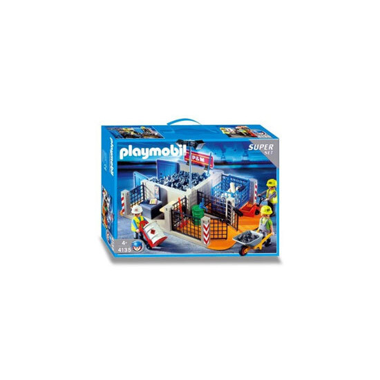 Playmobil - Construction Site SuperSet 4135
