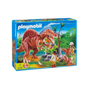 Photo of Playmobil - Spinosaurus With Nest 4174 Toy