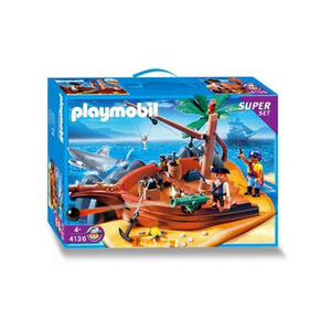 Photo of Playmobil - Pirate Island SuperSet 4136 Toy