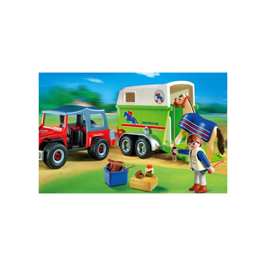 Playmobil - Equine Transport/Horse Trailer 4189