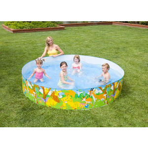 Photo of Intex 8FT Jungle Snapset Pool Paddling Pool