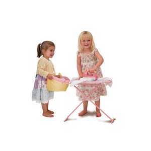 Photo of Dream Town Rose Petal Cottage - Laundry Set Toy
