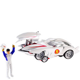 Hot Wheels Speed Racer - Deluxe Mach 5 & Speed Racer Figure Reviews