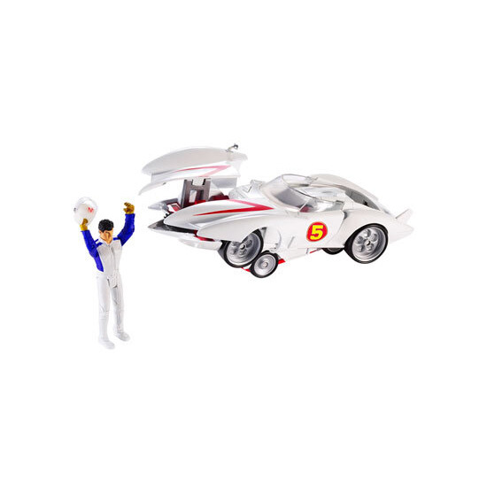 Hot Wheels Speed Racer - Deluxe Mach 5 & Speed Racer Figure