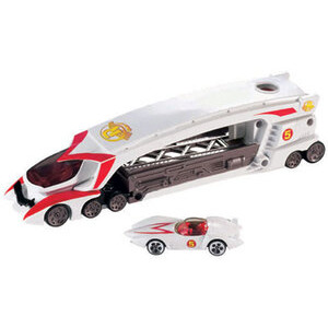 Photo of Hot Wheels Speed Racer Launching Big Rig Toy