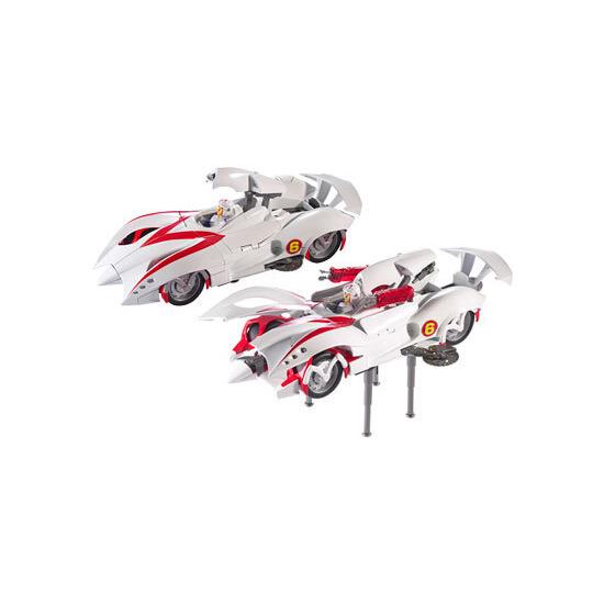 Hot Wheels Speed Racer Battle Morph Mach 6