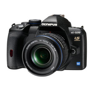 Photo of Olympus E-520 With 14-42MM Lens Digital Camera