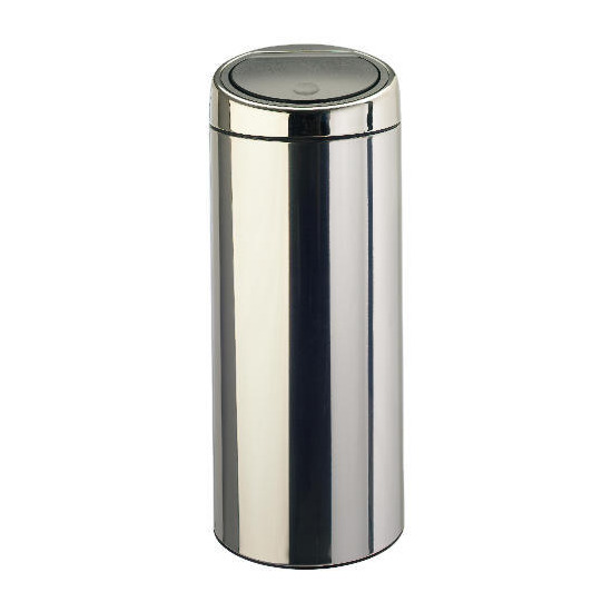 Brabantia 30Ltr Brilliant Steel Touch Bin