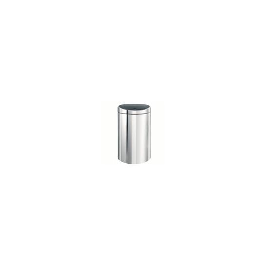 Brabantia 10/23Ltr Brilliant Steel Twin Bin