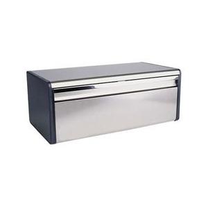 Photo of Brabantia Fall Front Bread Bin In Brilliant Steel Kitchen Accessory