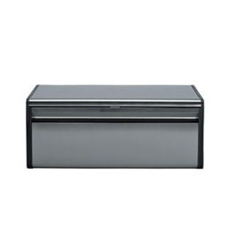 Brabantia Matt Steel Fall Front Bread Bin