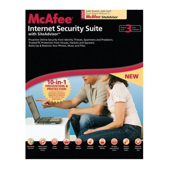 McAfee Internet Security Suite 3-User