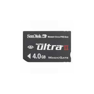 Photo of SANDISK 4GBMSPRO ULTRA2 Memory Card