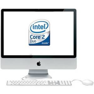 Photo of Apple IMAC - Core 2 Duo 2.4 GHZ - MacOS X 10.4.10 Desktop Computer
