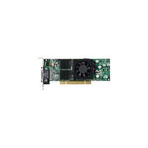 Photo of Matrox QID Low-Profile PCI - Graphics Adapter - Parhelia-LX - PCI Express X16 Low Profile - 128 MB DDR - Digital Visual Interface (DVI) Graphics Card