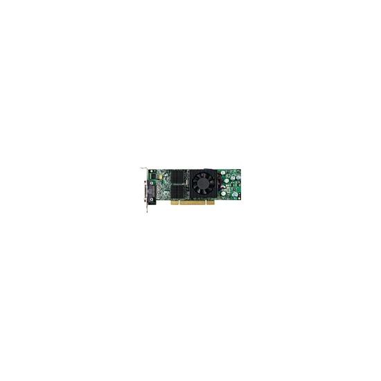 Matrox QID Low-profile PCI - Graphics adapter - Parhelia-LX - PCI Express x16 low profile - 128 MB DDR - Digital Visual Interface (DVI)