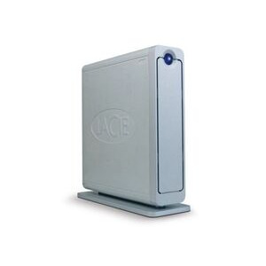 Photo of LaCie 320GB D2 QUADRA USB2, Fireware 400 & 800 & SATAII 7200RPM 8MB Cache External Hard Drive