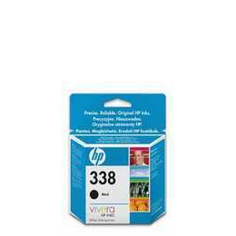 Original HP No.338 black printer ink cartridge twinpack CB331EE Reviews