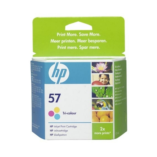 Hp No 57 Tri Colour