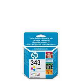 Original HP No.343 tri-colour (cyan magenta yellow) printer ink cartridge twin pack Reviews