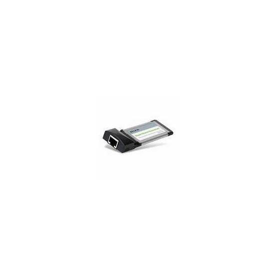 Belkin Gigabit Ethernet ExpressCard - Network adapter - ExpressCard/34 - EN, Fast EN, Gigabit EN - 10Base-T, 100Base-TX, 1000Base-T
