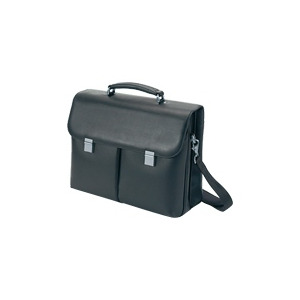 Photo of Dicota ExecutiveLeather - Notebook Carrying Case - Black Laptop Bag