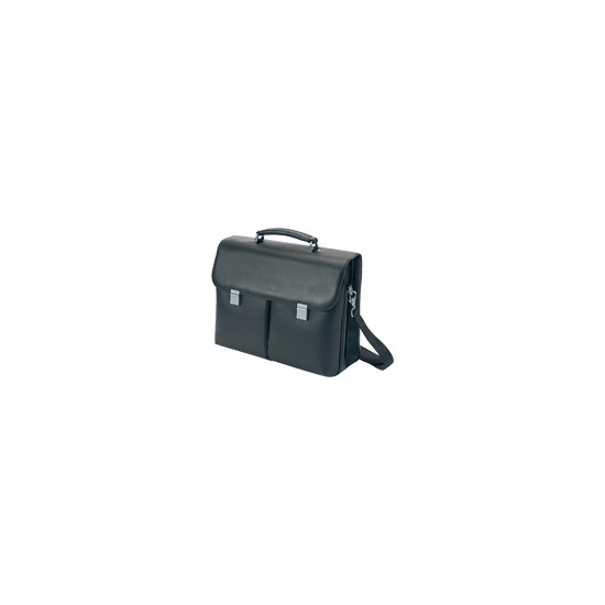Dicota ExecutiveLeather - Notebook carrying case - black