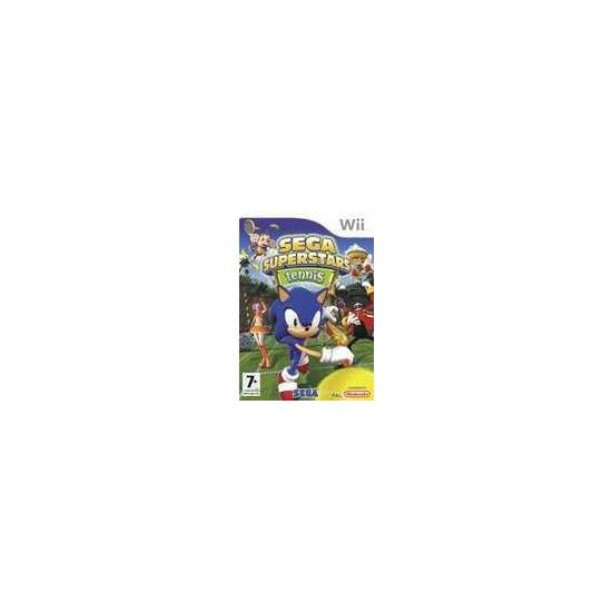 Sega Superstar Tennis Wii