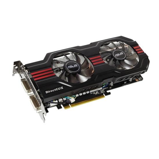 ASUS ENGTX560 Nvidia PCI-E 1 GB