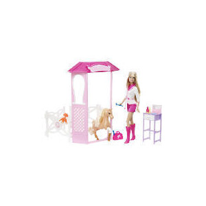 Photo of Barbie I Can Be A Pony Doctor Giftset Toy