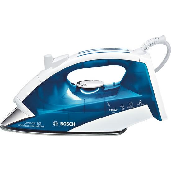 Bosch TDA3605GB Stainless Steel Edition Steam Iron - Night Blue & White