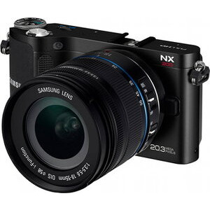 Photo of Samsung NX200 With 18-55MM Lens Digital Camera