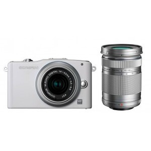 Photo of Olympus PEN E-PM1 With 14-42MM and 40-150MM Lenses Digital Camera