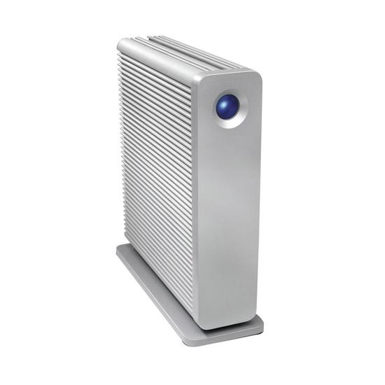 LaCie d2 Quadra 301442EK External Hard Drive - 1TB, Silver