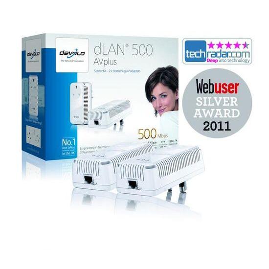 DEVOLO 1649 dLAN 500AVplus Starter Kit