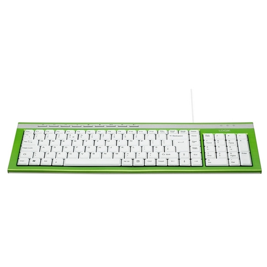 Logik LKBWG11 Keyboard - Green