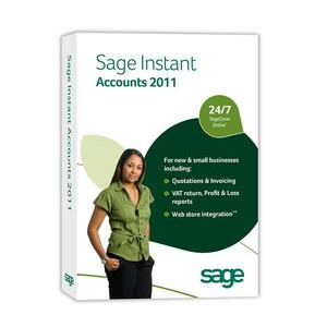 Photo of SAGE Instant Accounts 2011 Software