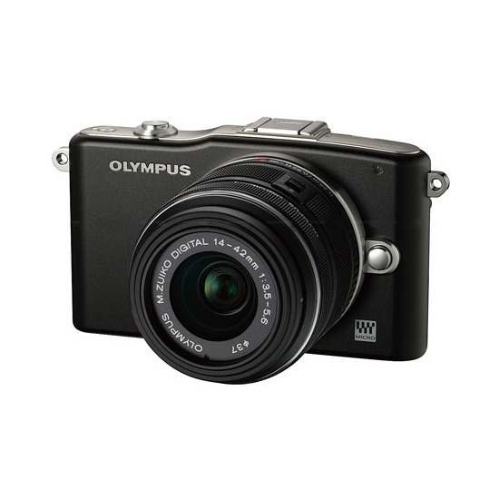 Olympus PEN E-PM1 with 14 -42mm lens